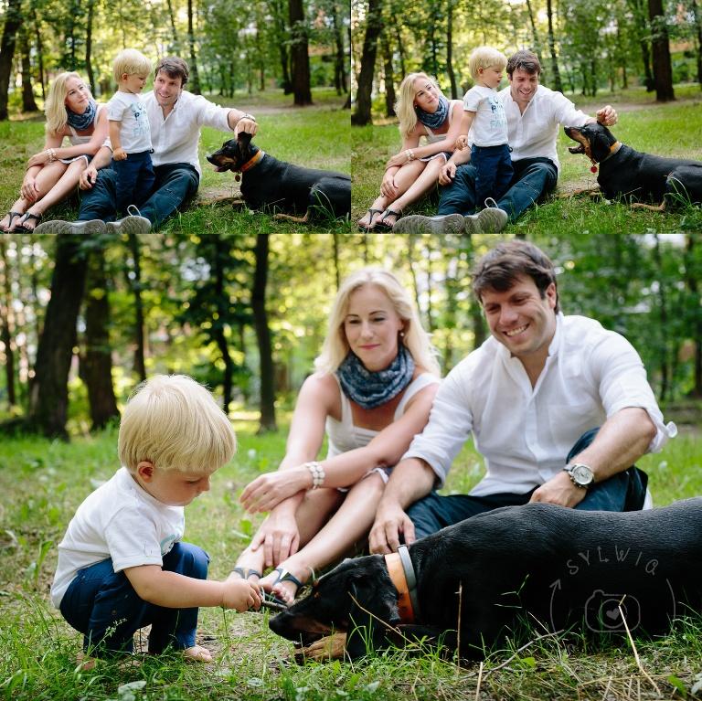 zdjęcia rodzinne w parku