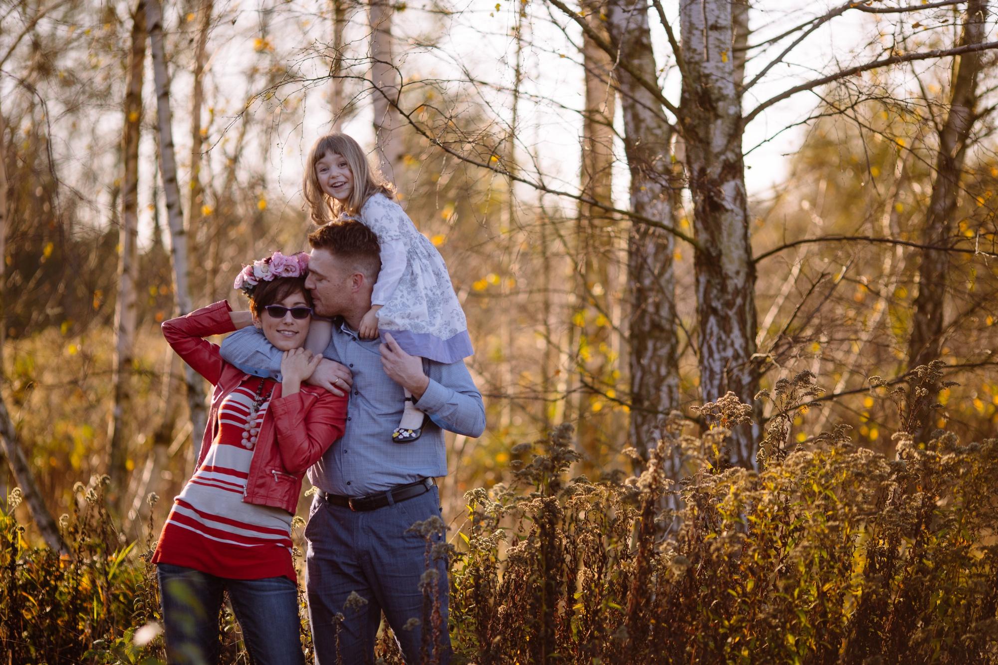 sesja rodzinna w plenerze