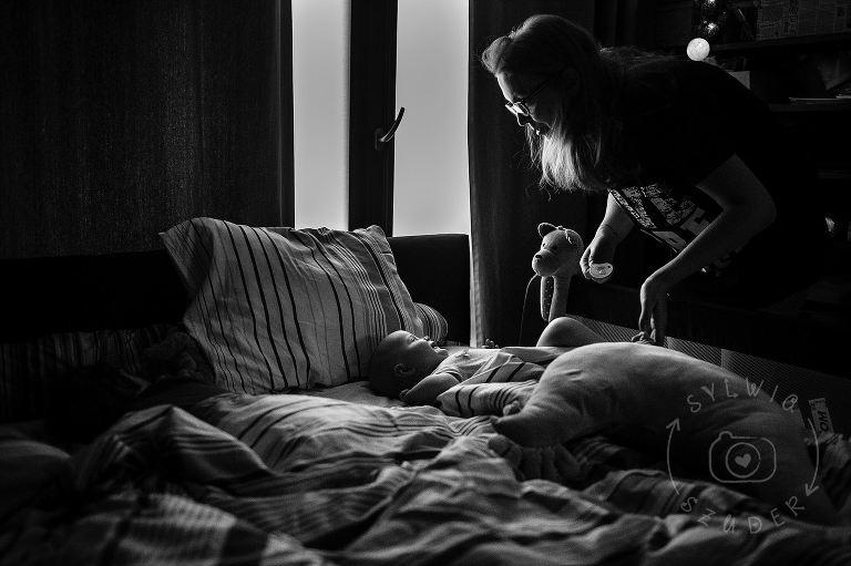 pobudka w łóżku rodziców