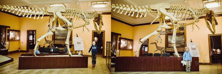 dzieci w Muzeum Ewolucji w PKiN 04