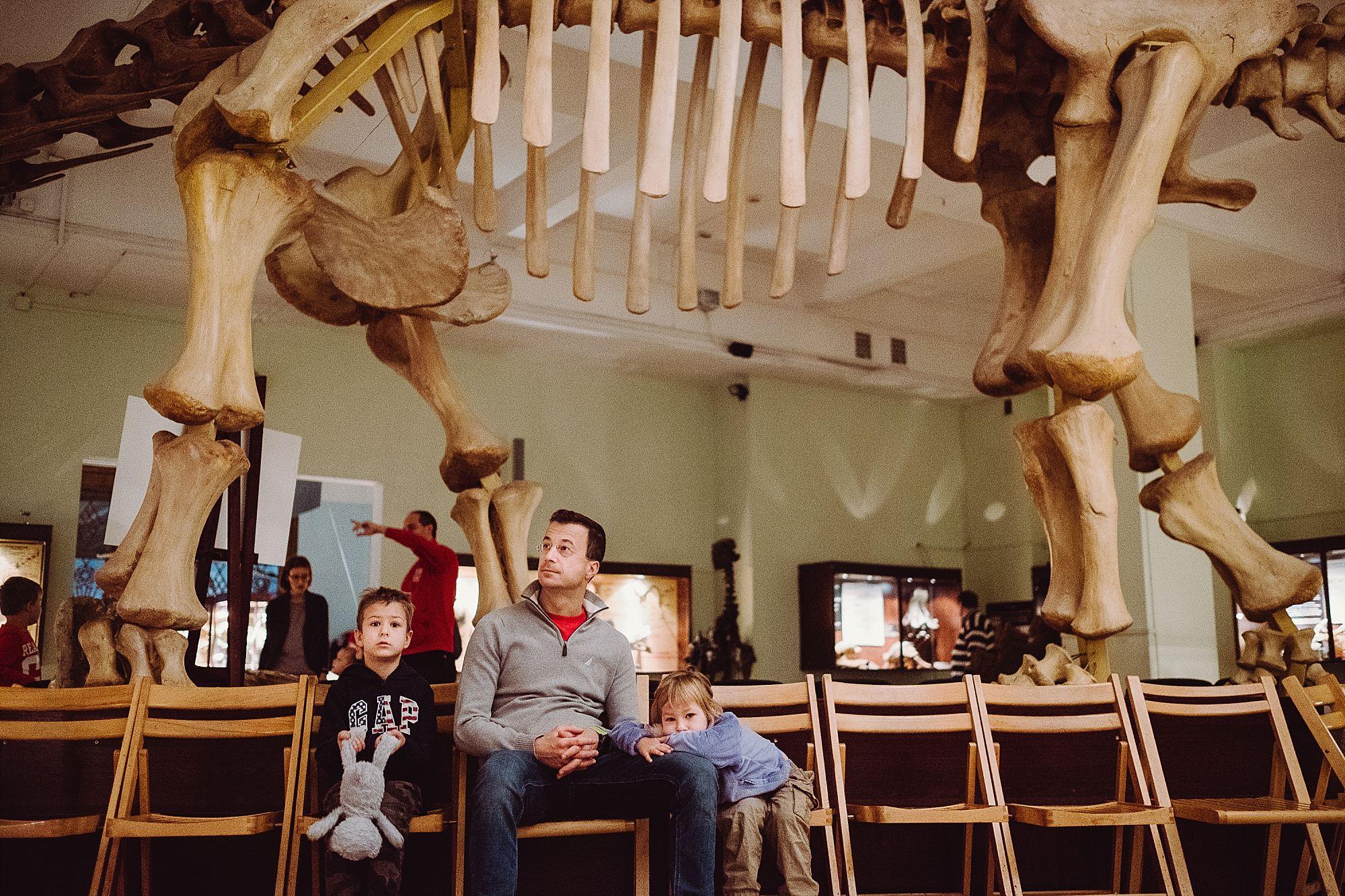 dzieci w Muzeum Ewolucji w PKiN 09