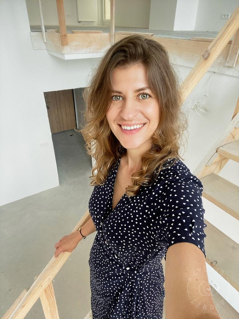 Sylwia Szuder w studio Budy